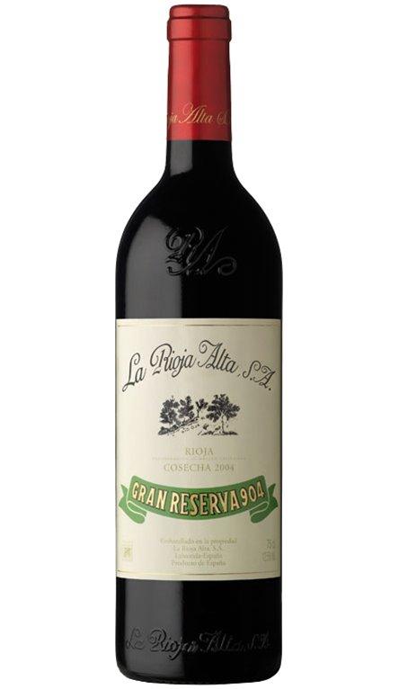 Vino Tinto La Rioja Alta Gran Reserva 904