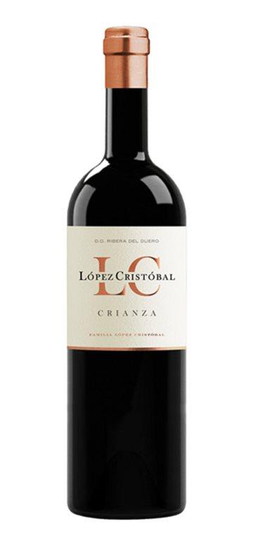 Vino Tinto López Cristóbal Crianza 75cl.
