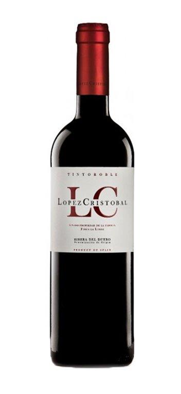 Vino Tinto López Cristóbal Roble 1,5L