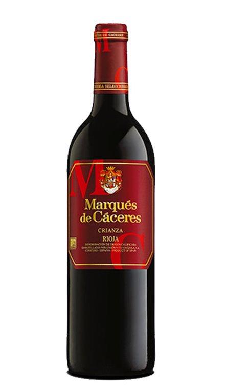 Vino Tinto Marqués de Cáceres Crianza