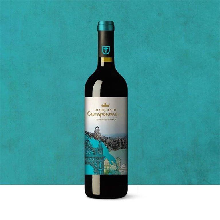 Marqués de Campoameno Red Wine. 75 cl bottle