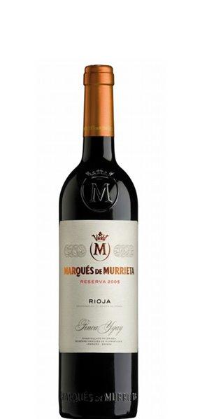 Vino Tinto Marqués De Murrieta Reserva 50cl