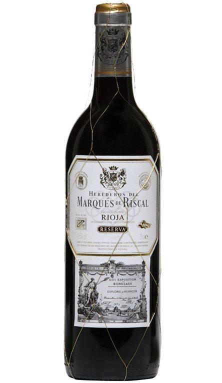 Vino Tinto Marqués de Riscal Reserva 375ml, 1 ud