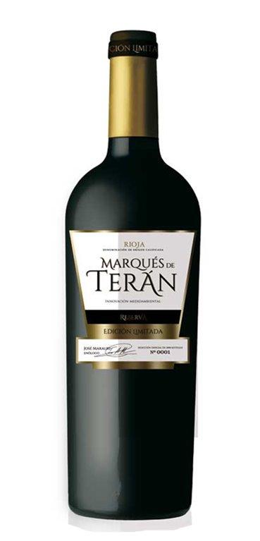 Vino Tinto Marqués de Terán Reserva Edición Limitada