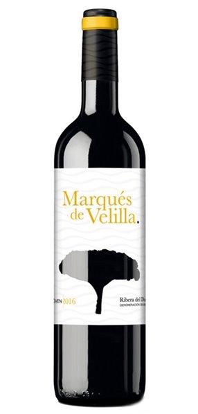 Vino Tinto Marques de Velilla Joven