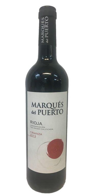 Vino Tinto Marques del Puerto Crianza