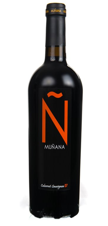 Vino Tinto Muñana Ñ Cabernet Sauvignon, 1 ud