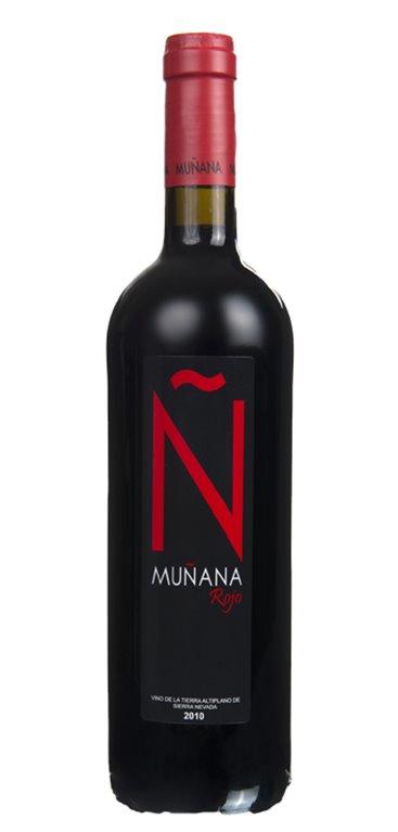 Vino Tinto Muñana Ñ Rojo, 1 ud