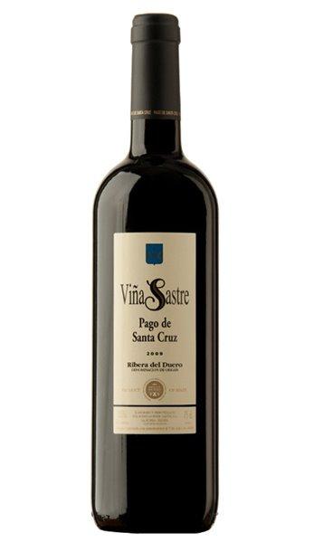 Vino Tinto Pago de Santacruz de Viña Sastre