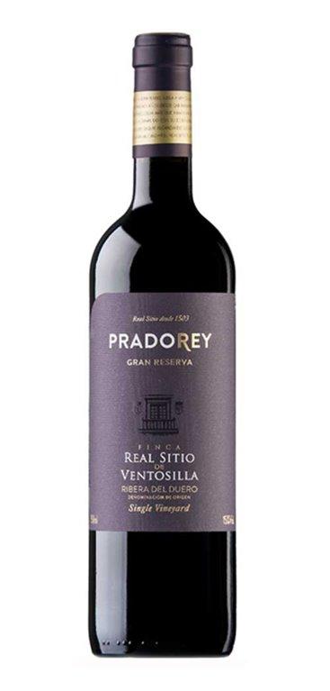 Vino Tinto Pradorey Finca real Sitio de Ventosilla