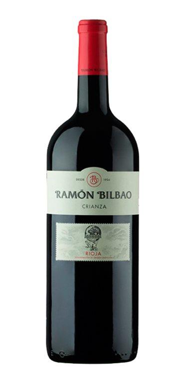 Vino Tinto Ramon Bilbao Crianza Magnum
