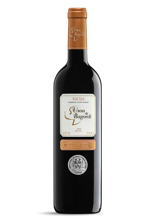 Vino tinto Rioja Reserva 2007, 1 ud