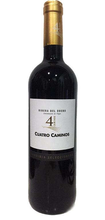 4 Caminos Selection Red Wine Vintage Selecciona Magnum