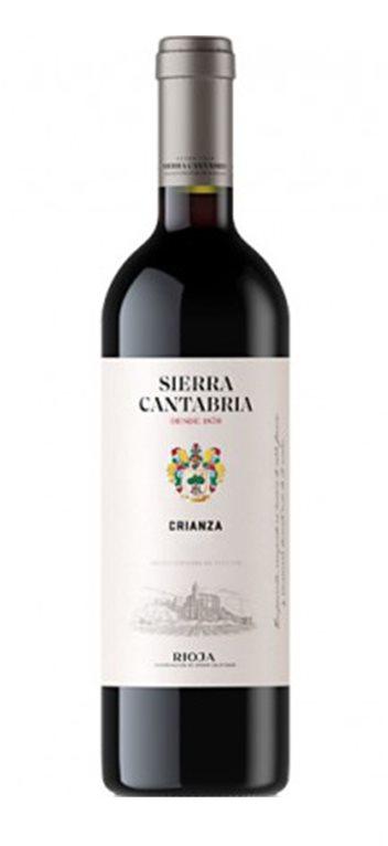 'Vino Tinto Sierra Cantabria Crianza, 1 ud