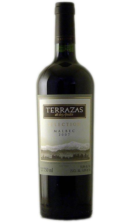 'Vino Tinto Terrazas de Los Andes Selection Malbec