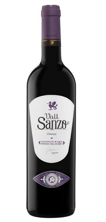 Vino Tinto Vall Sanzo Crianza