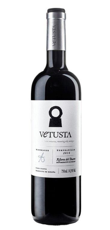'Vino Tinto Vetusta Crianza, 1 ud