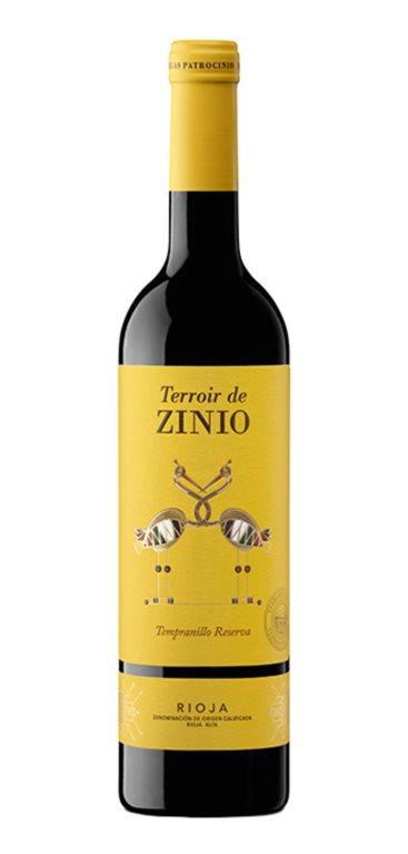'Vino Tinto Zinio Reserva, 1 ud