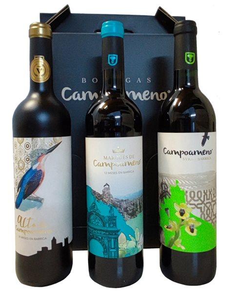 Vinos de Jaén Campoameno. 3 x 75 cl.