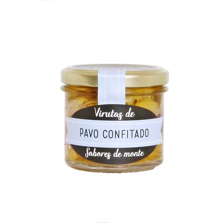 Virutas de Pavo Confitado LaurelyTomillo