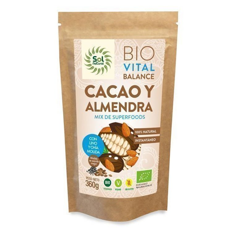 Vital Balance Cocoa and Almond Solnatural 360g