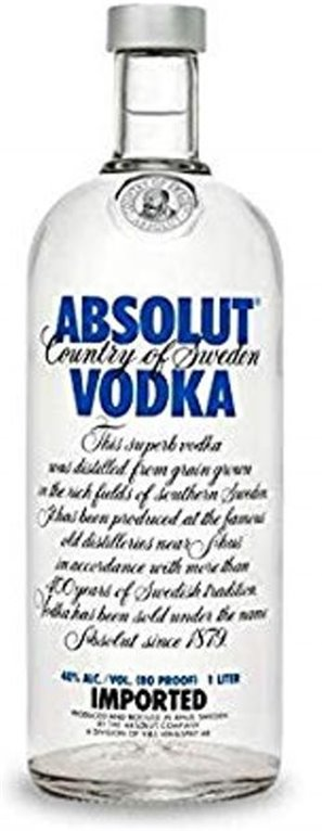 Absolut Vodka 1L