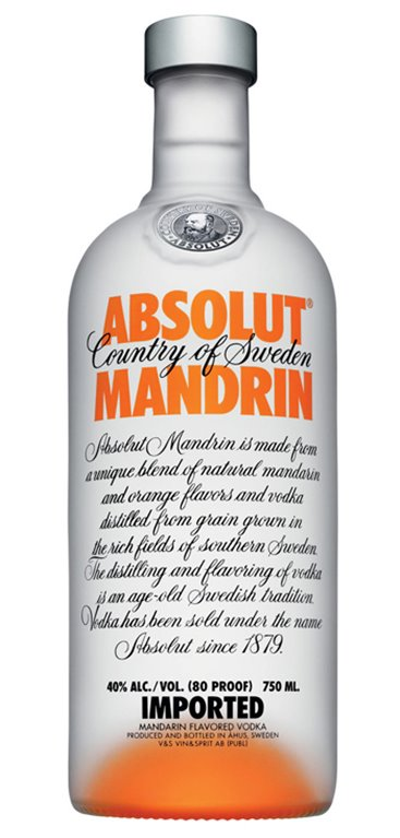 Vodka Absolut Mandarin