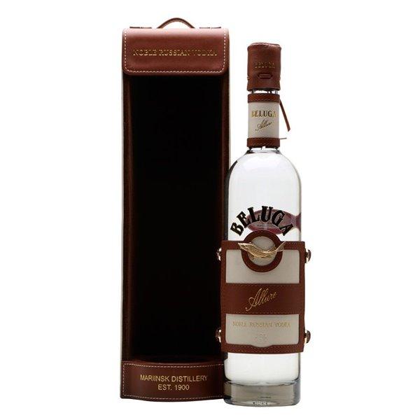 Vodka Beluga Allure + Leather Case 0.70 L.