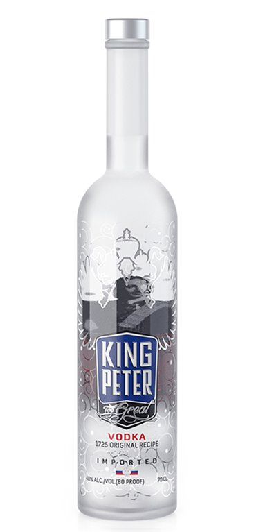 Vodka King Peter 0,7L