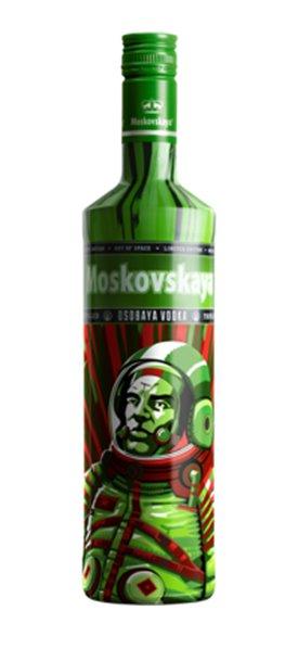 Vodka Moskovskaya Edición Limitada Out of Space