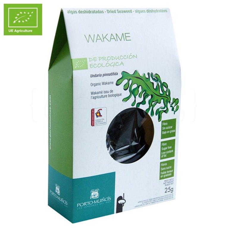 Wakame deshidratado Ecológico 25gr. Porto-Muiños. 8un., 1 ud