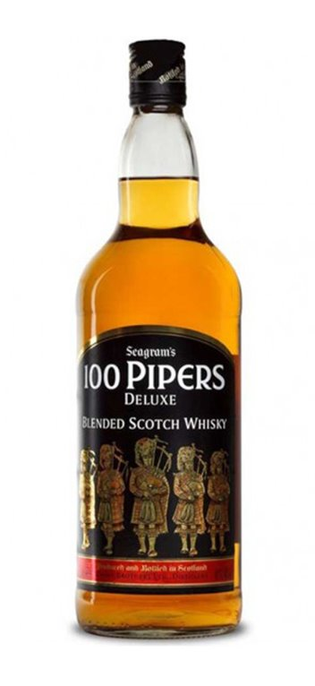 100 Piper's Whisky