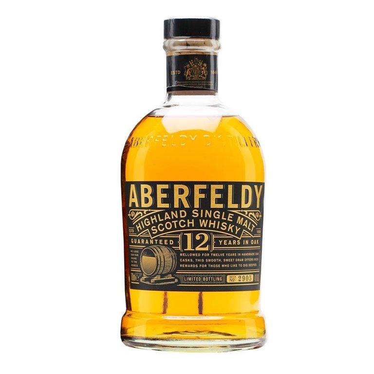 Whisky Aberfeldy 12 years + Case 0.70 L.