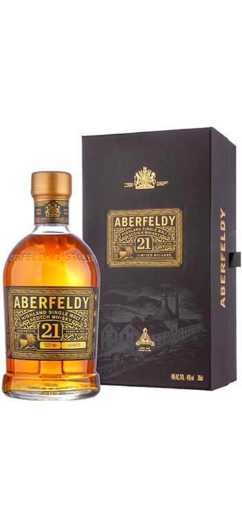 Aberfeldy Whisky 21 years old