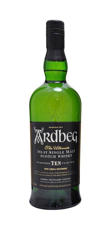 Whisky Ardbeg 10 Años
