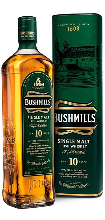 Whisky Bushmills 10 Años
