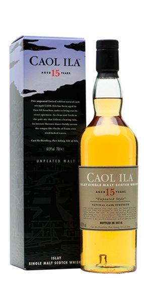 Whisky Caol ila 15 Years Unpeated