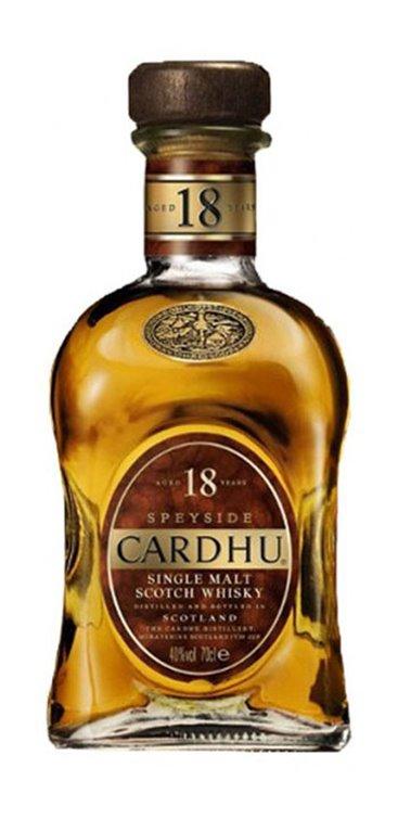 Whisky Cardhu 18 años