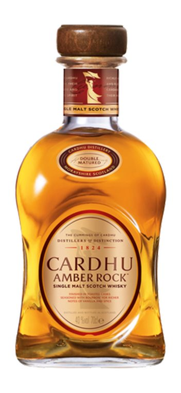 Whisky Cardhu Amber Rock
