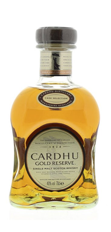 Whisky Cardhu Gold Reserve, 1 ud