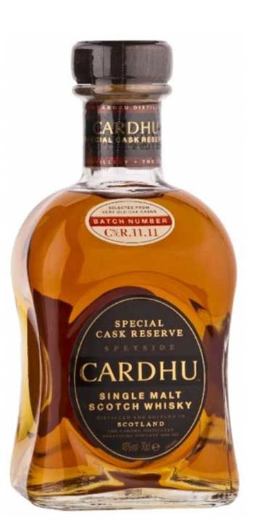 Whisky Cardhu Special Cask Reserva