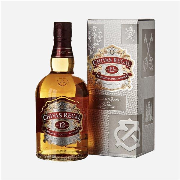 Whisky Chivas Regal 12 años 50cl