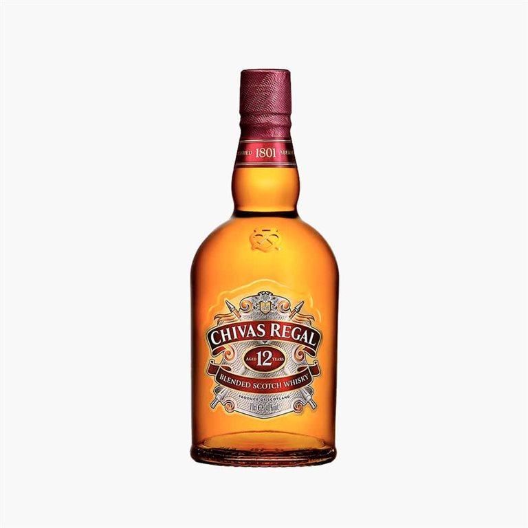 Whisky Chivas Regal 12 años 70cl