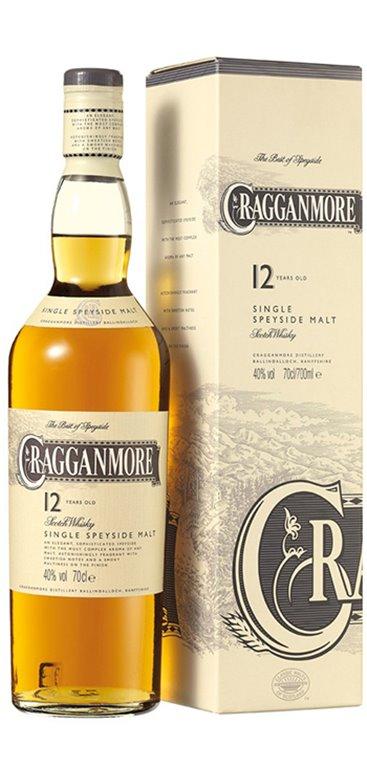 Whisky Cragganmore 12 Años