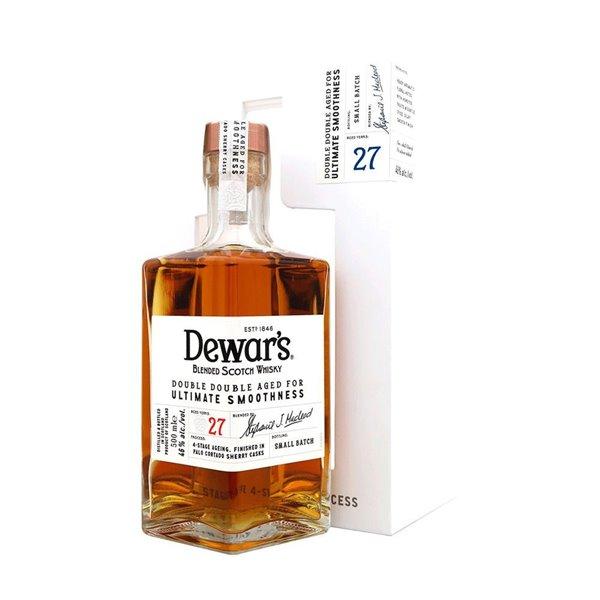 Whisky Dewar`s 27 años Quadruple + Estuche 0.50 L.