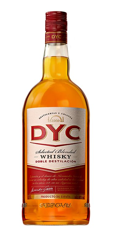 Whisky DYC 5 Años Miniatura