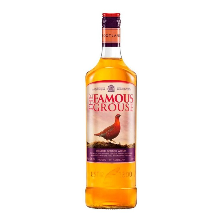 Whisky Famous Grouse 1.00 L.