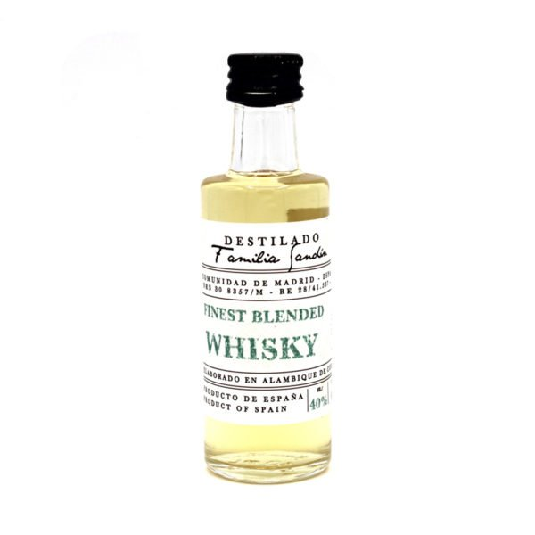 WHISKY – Finest Blended – 4 cl.