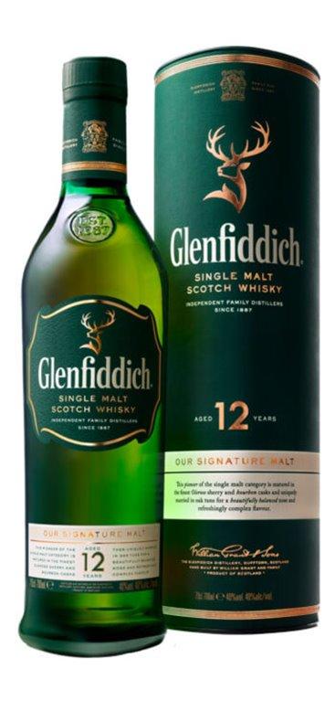 Whisky Glenfiddich 12 Años