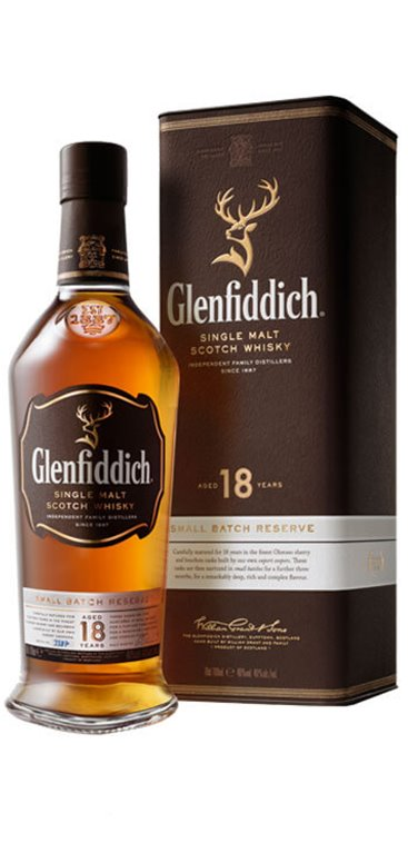 Whisky Glenfiddich 18 Años